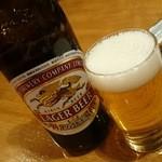 吉鳥  - 瓶ビール