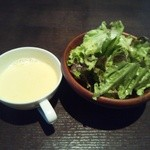 oufuuryouriyabisutora - サラダとスープだよ