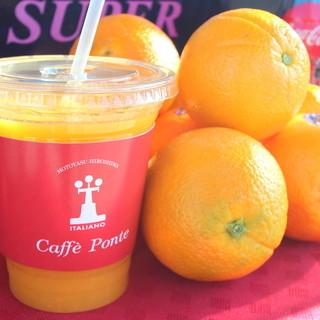 しぼりたてオレンジジュース
