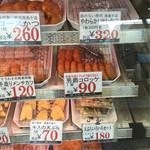 肉のニシジマ - ショーウインド