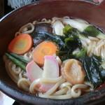 うすや - 料理写真:鍋焼きうどん