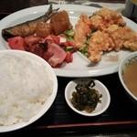 台湾飯店 - 日替わり~ささ身の竜田揚げ650円やったかな?