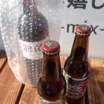 Somurienoyakuzaishigayatteruomisedesu - 購入したワインと地ビール