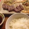 鉄板焼 犇亭 - 料理写真:う、うまい!ガーリックチップ導入前、肉半分食べてます、