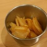 カレーレストラン シバ - 玉ねぎ