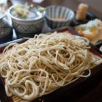 蕎麦貴石 - せいろ蕎麦(お昼のセット)