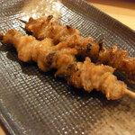 八重洲 串や  - 鶏皮巻焼き