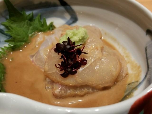 銀座うち山 銀座三越店 - プリップリの鯛