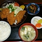 とんかつ俵 - 料理写真:ヒレカツ定食にて
