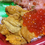 海の華 丼丸 - この値段で生ウニ