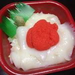 海の華 丼丸 - イカ明太子丼500円