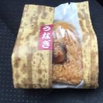 浜名湖サービスエリア スナックコーナー - うなぎ焼きおにぎり236円