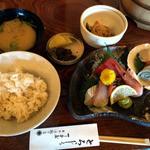 丁子屋 - 刺身定食