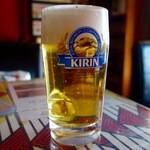 KINBA - 生ビール(500円)
