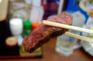 肉家まるまさ - 赤焼き・小(980円+税)