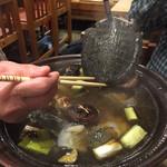 46277655 - すっぽん鍋