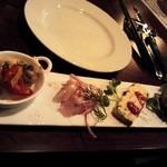 フランス家庭料理  グランダミ - 前菜盛り合わせ
