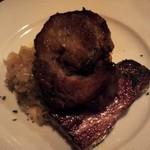 フランス家庭料理  グランダミ - 厚切りベーコンと豚肉