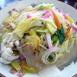 酔仙食堂 - 料理写真:チャンポン