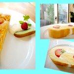 CAFE Vogue Ruby - '10/5アンズケーキ・ロールケーキ