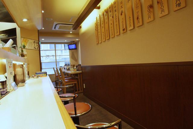お食事処 あかだも - ものすごく綺麗な店内。