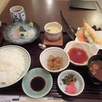 46281674 - 暫く待つと注文した和定食ランチ1100円が運ばれてきました。