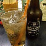 もつやき 石松 - ホッピーセット