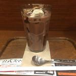上島珈琲店 - アイスココア(^_-)