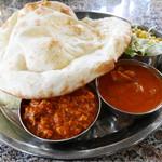 インド料理 Vicky - 2015/12/29  Bセット 920円 ナン、ライス、サラダ、スープ ナンは1回お替り、お店のみで食べる事