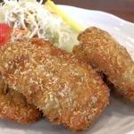 藤矢 - 牡蠣フライ定食の牡蠣フライ