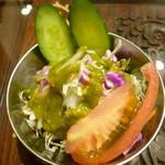 Annam Indian Restaurannt アナム本格インド料理 - まともなサラダ
