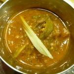 Annam Indian Restaurannt アナム本格インド料理 - オクラとトマトのカレー