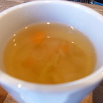 トリニティ オイスター ハウス - スープ、これはやや残念