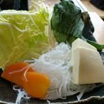 銀座しゃぶ通 好の笹 - 牛タン麦とろセットです♪