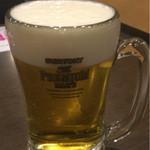 ステーキガスト - 生ビール(499円)