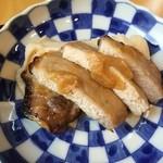 定食家 つき善 - 豚肉の下はマッシュポテト