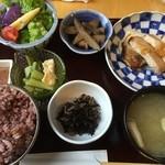 定食家 つき善 - 豚肉の西京焼き定食