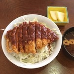 東山ガーデン - 味噌カツ丼