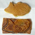 タパス - 料理写真:たい焼き(クリーム)とサクサクたい焼き