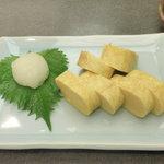 讃岐うどんの庄 かな泉 - 出汁巻き卵