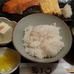 福ろう - 鮭の西京焼き定食 2016.1