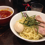 玉五郎 - 特製辛味つけめん〜♪( ´θ.`)ノ¥1050円