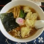 もめん - 最高の「ワンタン麺(\750)」