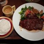 グランケーブ - ステーキランチ1200円※税別