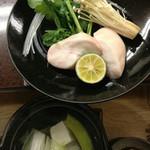 保利以 - ふぐ(天然)白子鍋