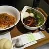 モアカフェ - 料理写真:カポナータ(パスタ)、ロコモコ丼