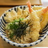 讃式 - 料理写真:海老天とかしわ天ぶっかけ