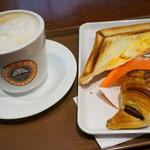 サンマルクカフェ - ランチセット