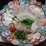 大海寿司 - ふぐ刺し