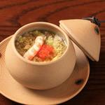 遊喜智 - レタス茶碗蒸し